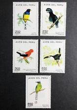 Stamp Vault - PERU C336-340 - MNH FULL COMPLETE SET - 1972 Birds