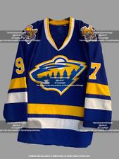 Minnesota Wild / Fighting Saints Concept Retro Mashup Jersey (S-3Xl) Kaprizov