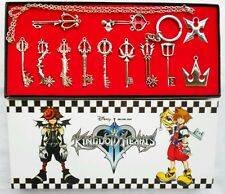 KINGDOM HEARTS - 12 COLLANE Chiavi Keys Sora Riku Ps2 KeyBlade Necklace Pendant
