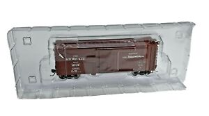 HO Vintage InterMountain Railway Milwaukee Boxcar Hiawatha in Original Box 23021