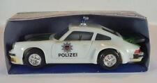 Hanson hong kong Porsche 934 policía plástico fricción longitud 15cm OVP #1276