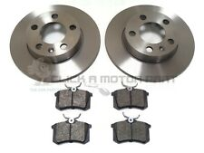 AUDI A3 MK1 1.6 1.8 1.9 TDi 1996-2003 REAR 2 BRAKE DISCS AND PADS SET NEW