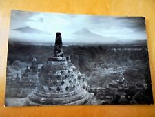 OLD PPC: INDONESIA~JAVA~VIEW FROM BOROBUDUR~ca 1930