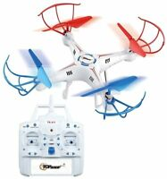Top Race® 4-Channel Quad Copter Drone, Ultra Stable With 1 Key Return  Headless