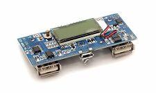 Dual USB 5V 1A 2A 18650 Power Charger board module / LCD 3.7V to 5V - AZ, USA