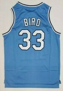 NEW Rare Larry Bird Men's College Jersey - Indiana State Blue Classic NWT