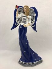 Behold the Fruit of Knowledge Figurine Angel of Blue Willow Bradford Ex.Stunning