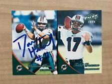 DAMON HUARD MIAMI DOLPHINS SIGNED AUTOGRAPHED 1999 PACIFIC CARD #217 W/COA