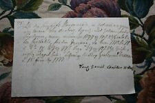 Documentos R 33/1777 daniel lembken Wismar
