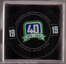 MARKUS NASLUND VANCOUVER CANUCKS RETIREMENT NIGHT OFFICIAL PUCK RARE