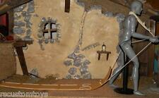"""1/6 Scale 12"""" Colonial Era Snow sled / Tobogan from Lewis & Clark Series loose"""