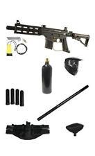 "Tippmann US ARMY Project Salvo Paintball GUN 18"" Barrel Tactical Pack 2 Scenario"
