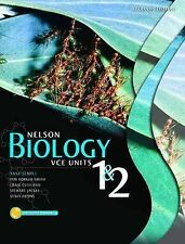 Nelson Biology VCE Units 1 and 2 by Nelson Thornes Ltd  Textbook no CD