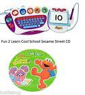 Fisher Price Fun 2 Learn Computer Cool School Software Sesame Street Game CD