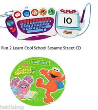 Fisher Price Fun 2 Learn Computer Cool School Software Sesame Street Game CD