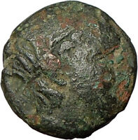 PHILIP V Perseus Macedon Kings River-God Trident  Ancient Greek Coin  i23986