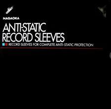 Nagaoka-rs-lp2 - Antistatic sleeves-antiestáticas-interior fundas-LP - 100x