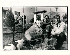 Photo Brigitte Bardot Francis Apesteguy Bougrain-Dubourg argentique époque 1982