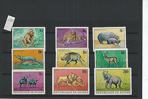 FRANCE-COLONIES-GUINEA-COMPLETE SETS-BETTER-THEMATIC-MINT AND MNH-VF