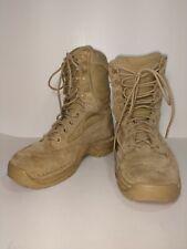 """$160 Danner 26018 Women sz 6.5 Desert TFX Rough-Out Tan 8"""" Combat Boot"""