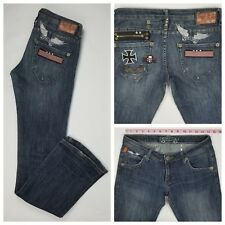 Robins Jeans Rock NRoll Compared To Who Straight Leg Low Rise Jeans Size 28 x 33