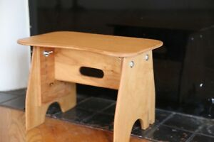 Hand Crafted Wooden Light Weight Adjustable Portable Music Benches (LIGHT)