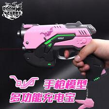 Overwatch D.VA LED Light Gun OW DVA Cosplay Gun Portable Source Charge Gun