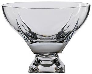 Rcr Crystal 24.5cm Fruit Bowl CentrePiece Bowl Dessert Bowl Salad Footed Bowl