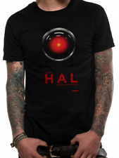 Mens 2001 Space Odyssey Hal 9000 T-shirt Top Sci Fi Official 2xl