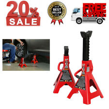 Torin Big Red Steel Jack Stands: 3 Ton 6,000 lb Capacity, 1 Pair