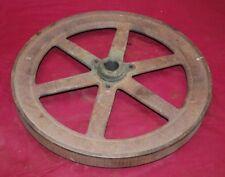 1 1/2 Hp John Deere Model E Pulley Side Flywheel Gas Engine Motor
