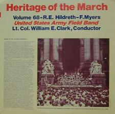 United States Army Field Band (VINYL LP) Heritage of the Mars: Volume 68-Ex/Presque comme neuf