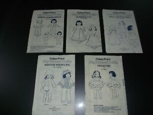Vintage Fisher Price My Friend Doll Clothes / BABY ANN Patterns UNCUT - CHOICE