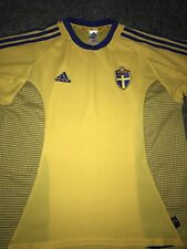 Sweden Home Shirt 2002/04 X-Large Rare And Vintage