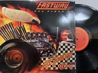 Fastway ‎– All Fired Up! LP 1984 Columbia ‎– BFC 39373 VG+/VG+