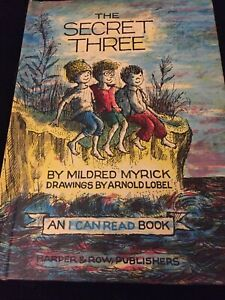 The Secret Three by Mildred Myrick (1963,Hardcover) Illustrated
