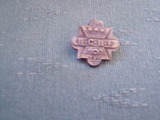 OLD BCBF XV1 - BLACK COUNTRY BOATING FESTIVAL - CANAL BOAT METAL PIN BADGE