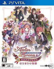 Used PS Vita New Atelier Rorona Story   SONY PLAYSTATION JAPANESE IMPORT