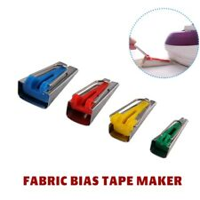 4pcs 6 12 18 25mm Fabric Bias Tape Maker Binding Tool Quilting Sewing Kit