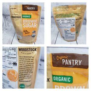 Woodstock Farms-Organic Brown Sugar ( 16 oz bags )