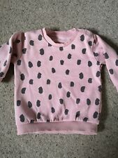 Baby Girl M&S Jumper Tracksuit 6-9 Months