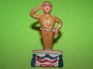 1940's MANOIL LEAD GENERAL PATTON WWII RARE! SALUTING OBRIEN'S M185