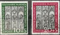 BRD 1949 700 Marienfenster Mi.Nr: 139-40 Gestempelt