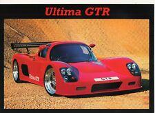Ultima GTR Car (made in GB) _ 1999 Prospectus/Brochure