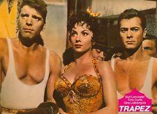 Trapez ORIGINAL Aushangfoto Burt Lancaster / Tony Curtis / Gina Lollobrigida