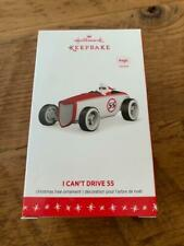 Hallmark Keepsake Ornament I Can't Drive 55 Santa Claus Magic Sports Car Red