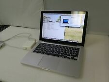 "Apple MacbookPro8,1 A1278 13.3"" 2011 i5 2.4GHz 4GB RAM 500GB HD Office 2011"