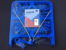 JUMBO CLOTHES LAUNDRY DRYER HANGER WITH 52 PEGS 800 MM X 370 MM WIDE, FREE POST