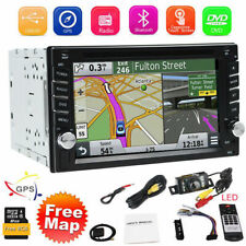 6.2 inch Double 2DIN Car Radio Stereo DVD Player Steering Wheel Control GPS Navi