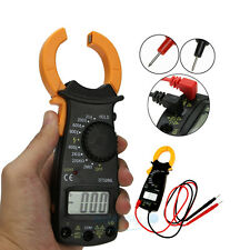 Digital Electronic AC DC Voltage Clamp Meter Multimeter Current Volt Tester LCD
